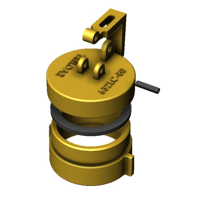 Brass Locking Caps