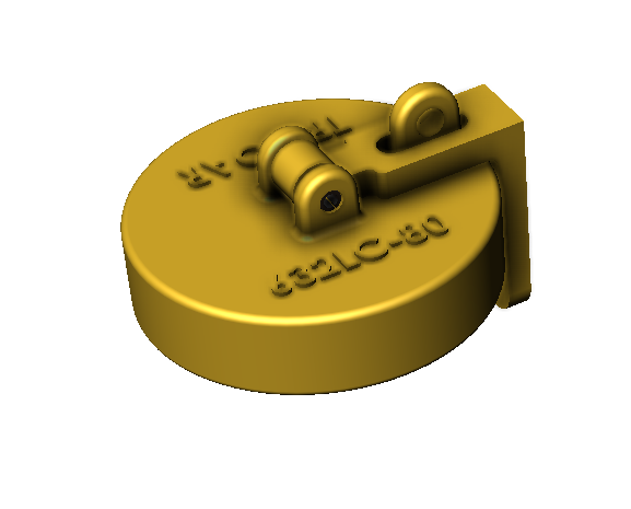 Brass Locking Caps