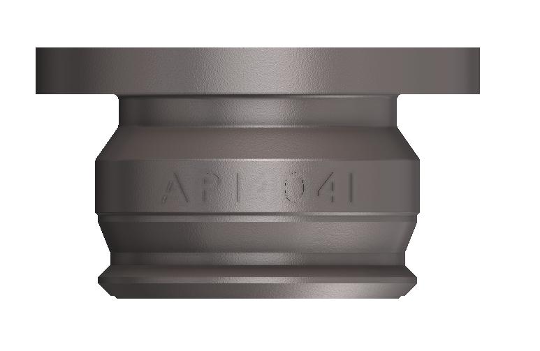 API Adaptor Dry Break 100mm
